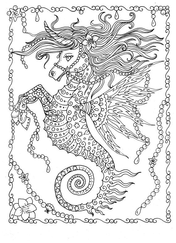 Fanta Sea Coloring Book Under The Sea Adventure Adult