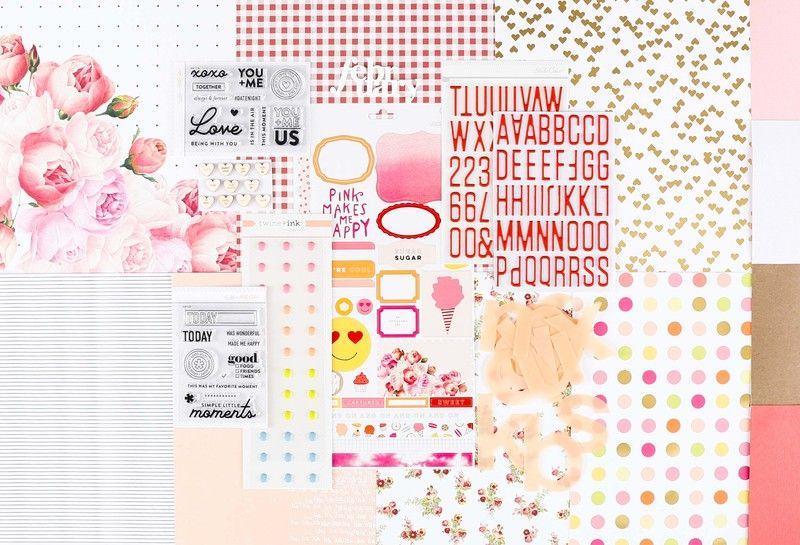 SAVANNAH Scrapbook Kit at @studio_calico