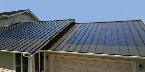 Fusion Solar From Custom Bilt Metals Standing Seam Metal Roofing Maker Solar Roof Metal Roof Panels Roofing Materials