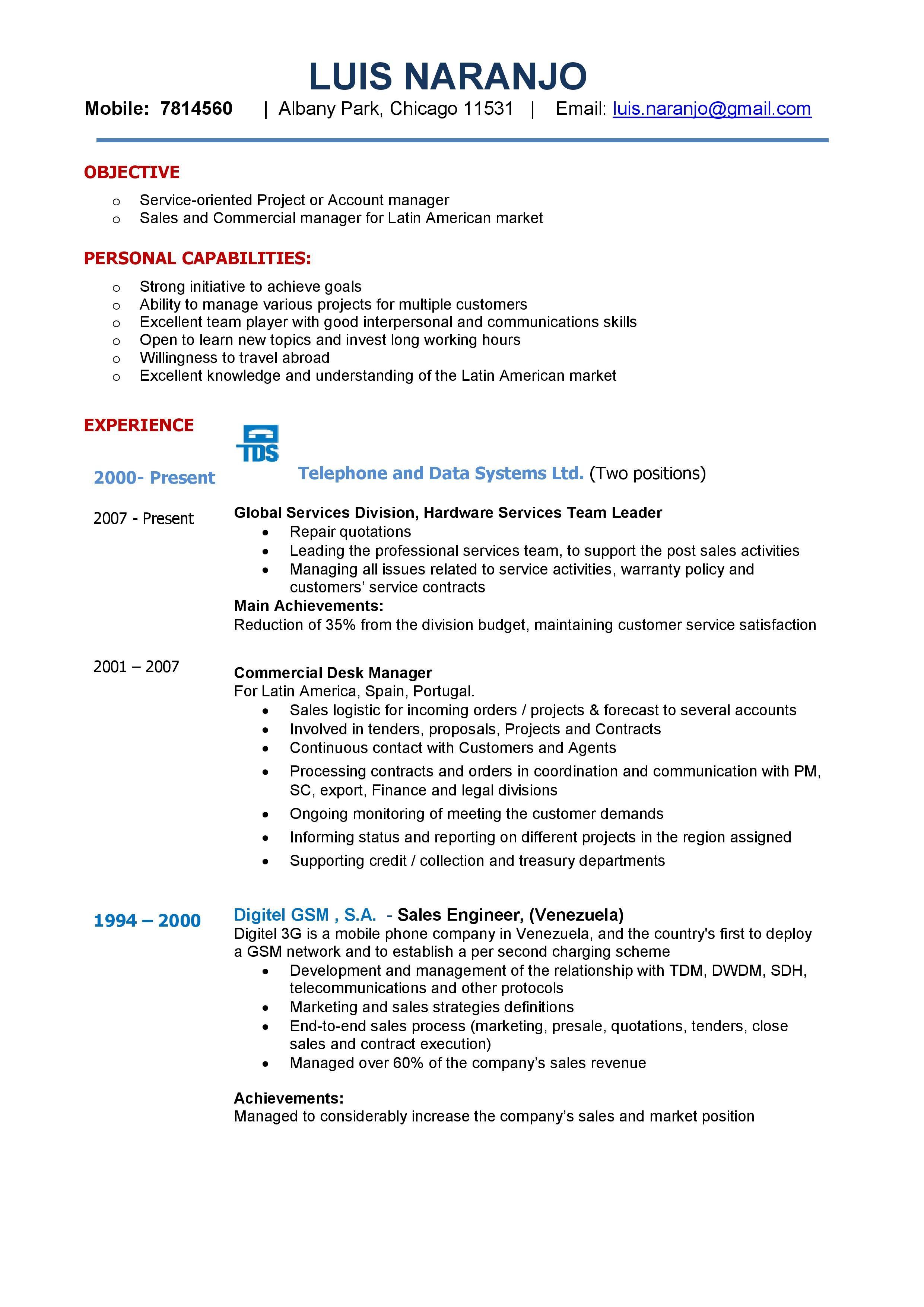 Resultado De Imagen Para Ejemplo De Resumen De Trabajo Resume Examples Job Resume Examples Best Resume Template