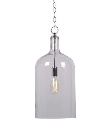 Another great find on #zulily! Ellis Single-Bulb Pendant Light, $99 !!   #zulilyfinds