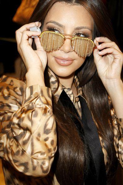 888e3f408cb6 Kim Kardashian Aviator Sunglasses