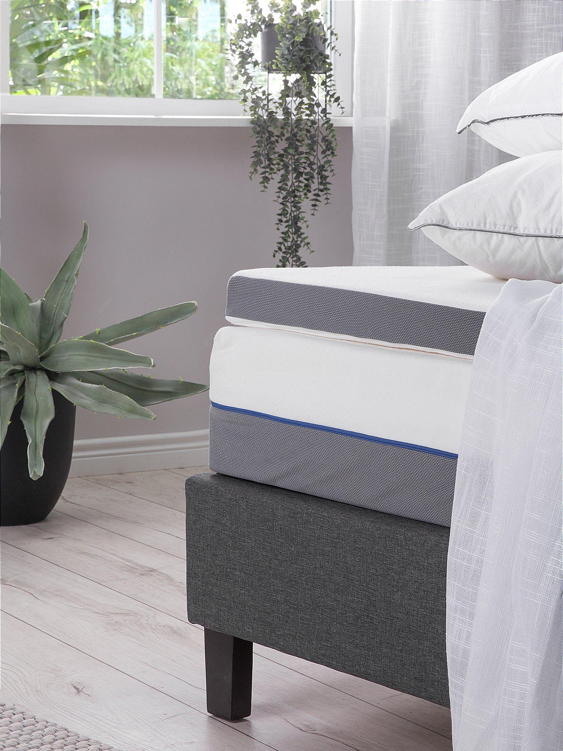 Matratzen Topper Memory Foam 90 X 200 Cm Comfy Schlafzimmer