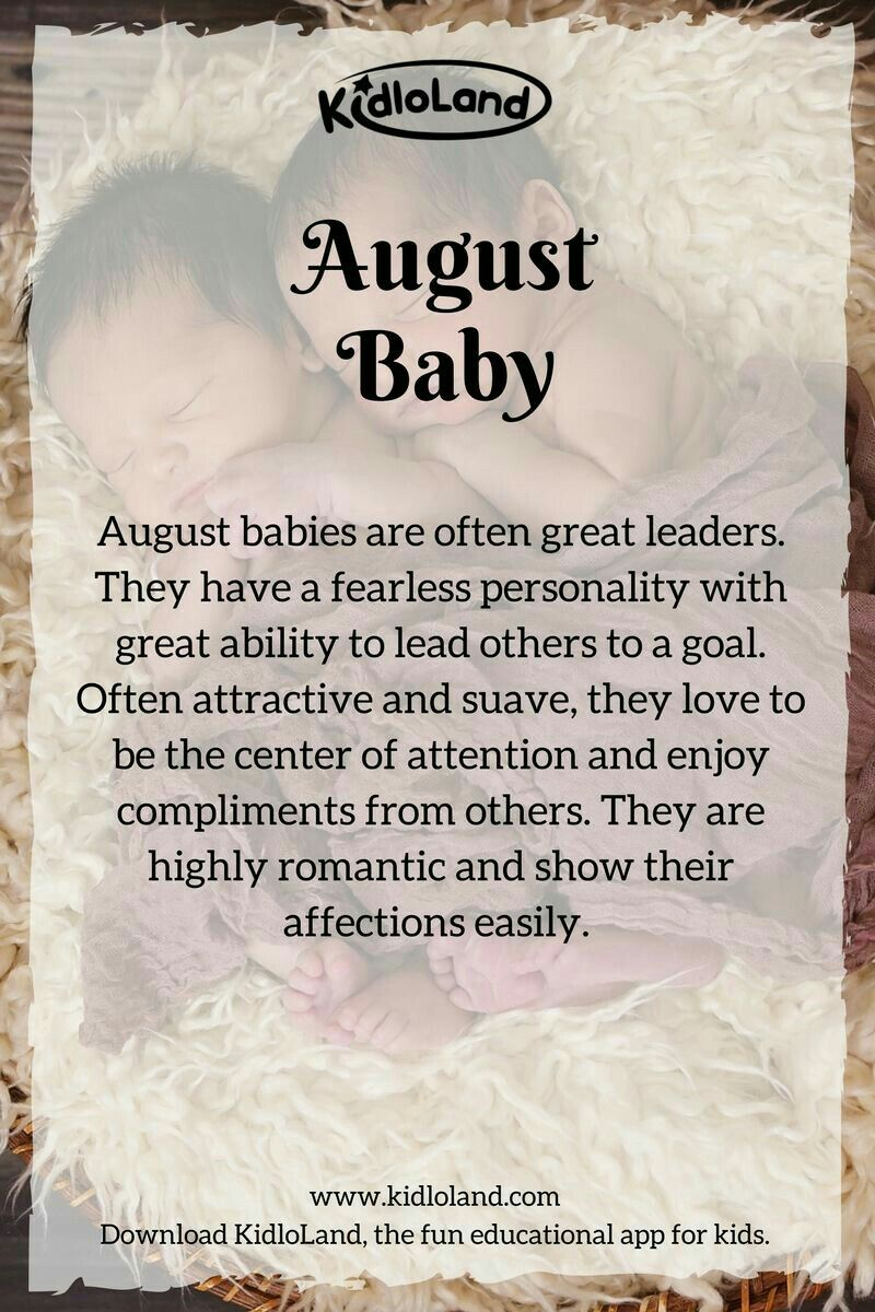 This Is What Your Baby's Birth Month Is Trying To Tell You