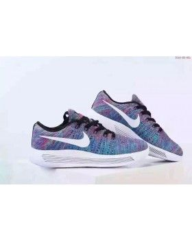 8ffee5f1af4 Nike LunarEpic Low Flyknit Multi Color Running Shoes