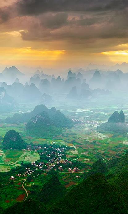 Yangshuo China Honeymoon Tripidea Romantic Paradise Traveltheworld Love Uxurytravel Absolutetrav Scenery National Geographic Travel Beautiful Places