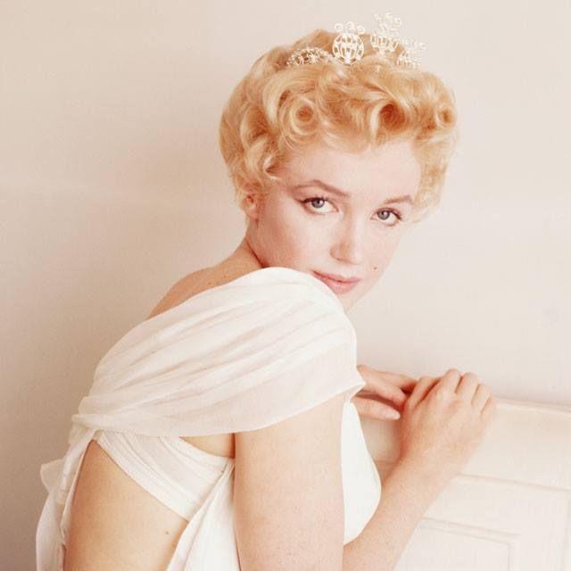 """The Graduation Sitting"" by Milton Greene Marilyn Monroe"