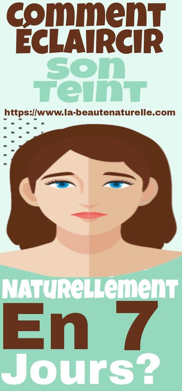 Comment Avoir Un Teint Mat Naturellement