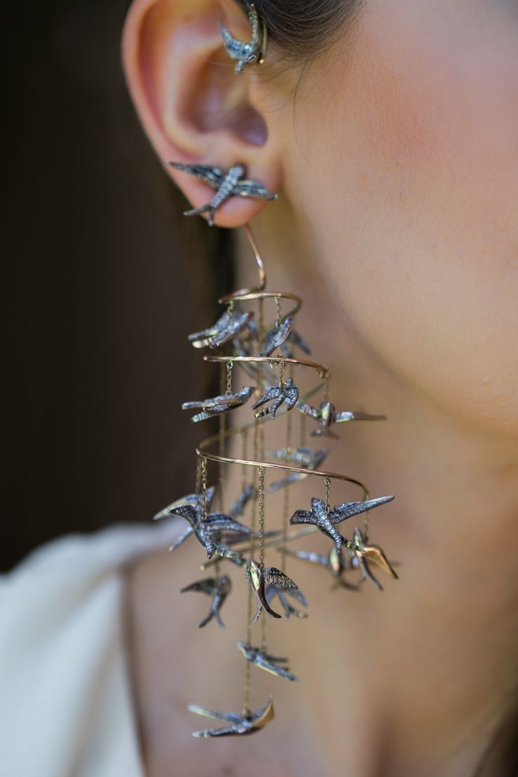 Photo of This but with tiny paper cranes painted Paper cranes Paper-cranes Steampunk Geek…