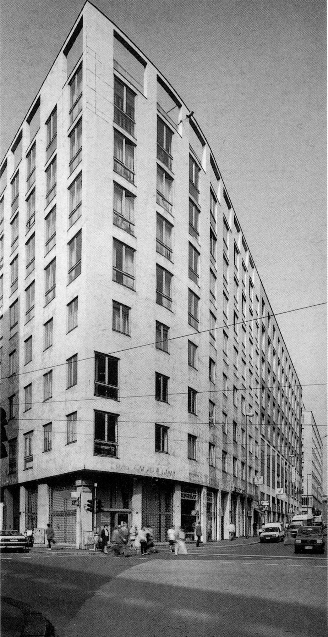 edifici per uffici e abitazioni via albricci 10 milano