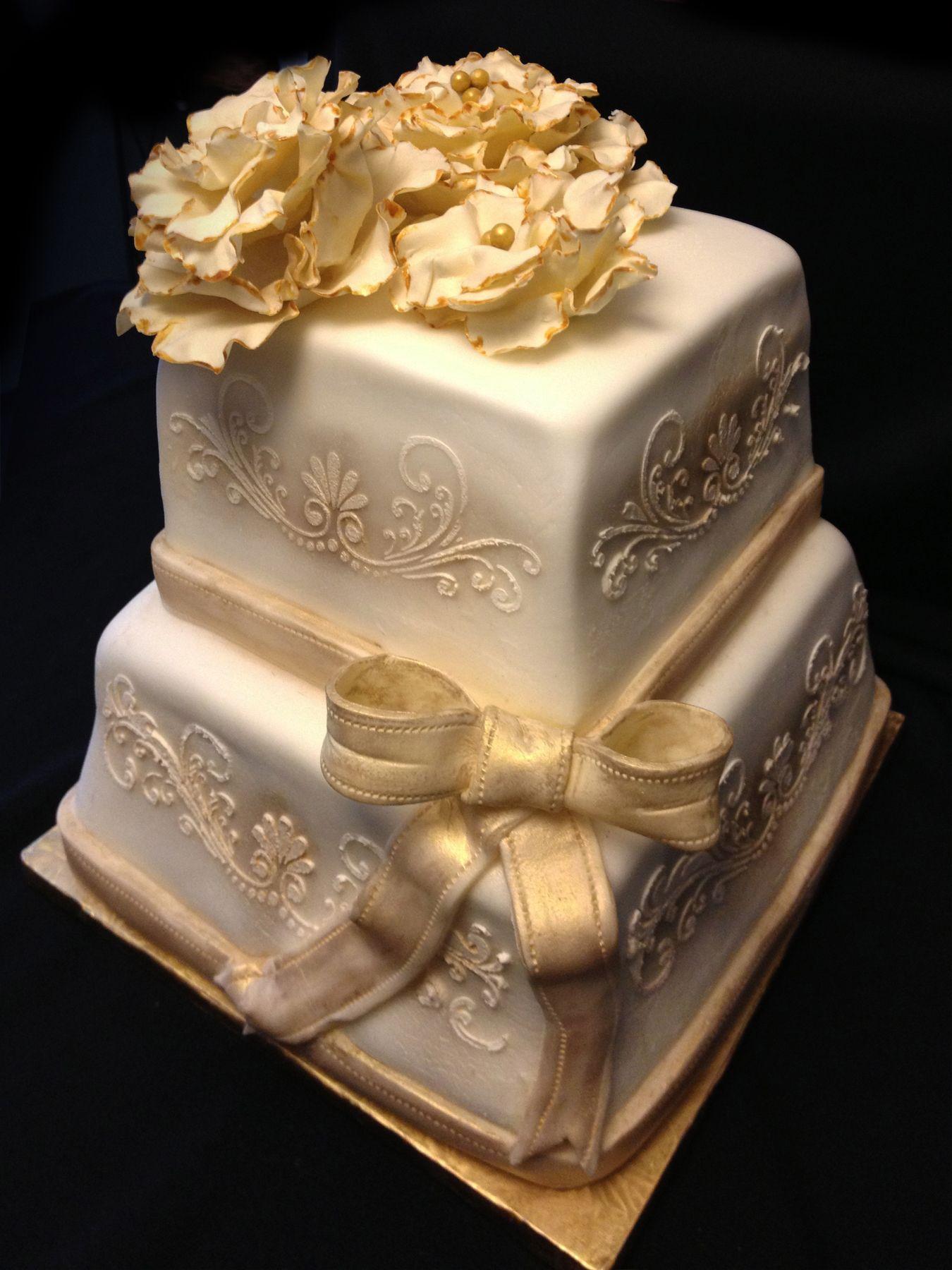 50th anniversary cake custom gourmet cakes Pinterest