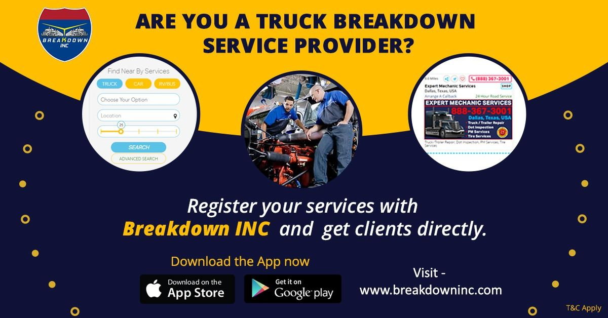 Pin on Find Truck Services