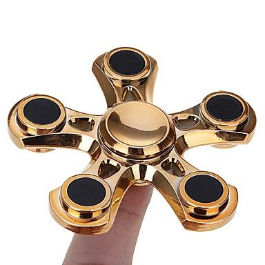 Stress Relief Hand Spinner and Spinning Fidget-Gold