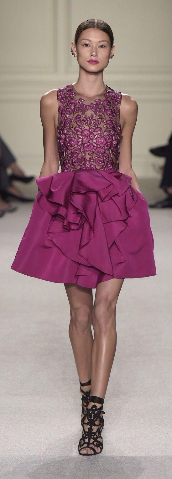 Marchesa | Vestidos cortos | Pinterest | Vestidos cortos, Alta ...