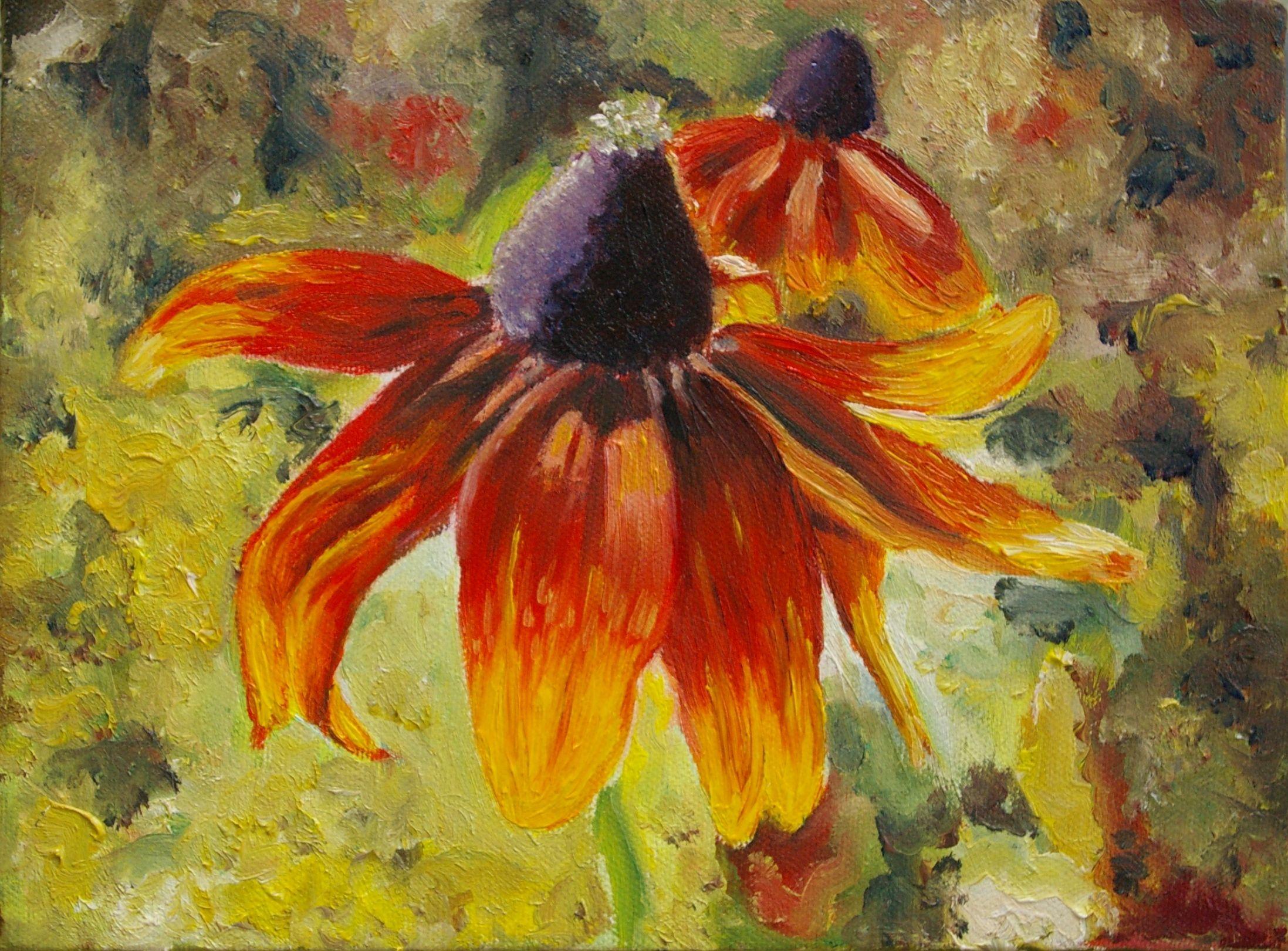 Famous Flower Paintings Monet