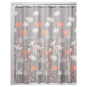 InterDesign Daisy Shower Curtains Target