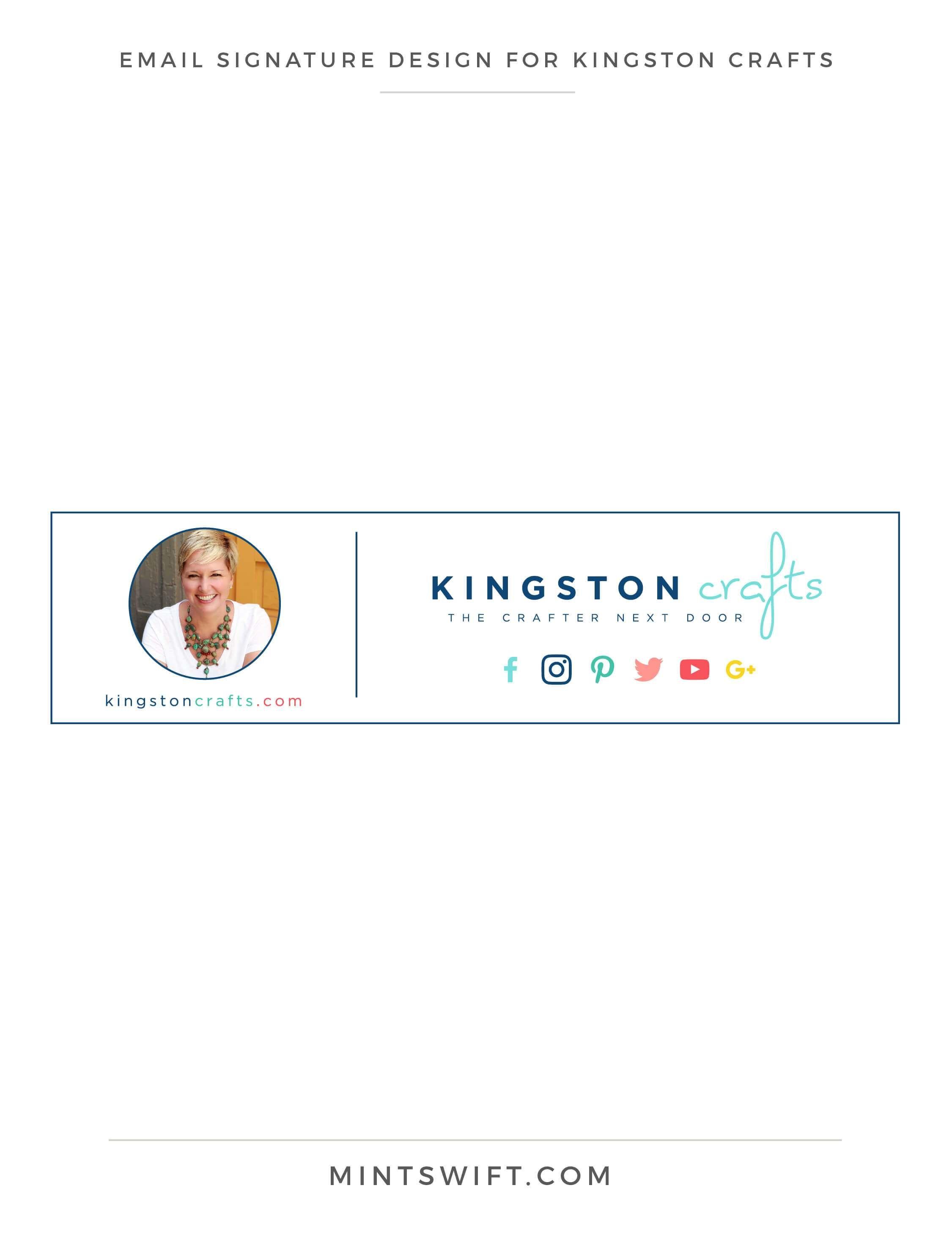 Brand Design for Kingston Crafts   Favicon design, Brand style ...