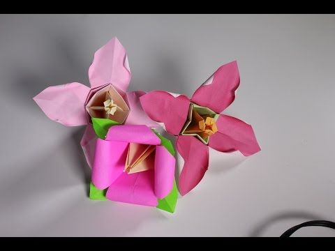How to make a cute origami plant bellflower youtube origami how to make a cute origami plant bellflower youtube mightylinksfo