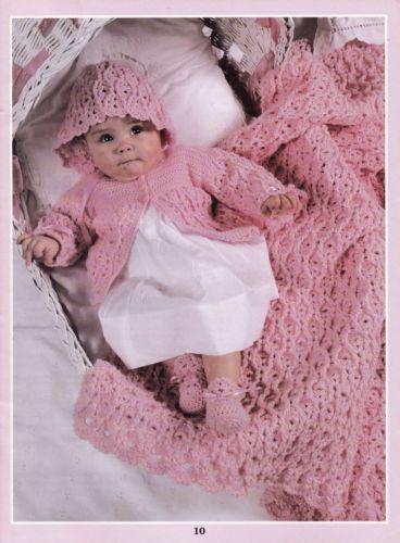 Let-s-Go-Bye-Bye-Leisure-Arts-Baby-Layette-Sets-Crochet-Pattern ...