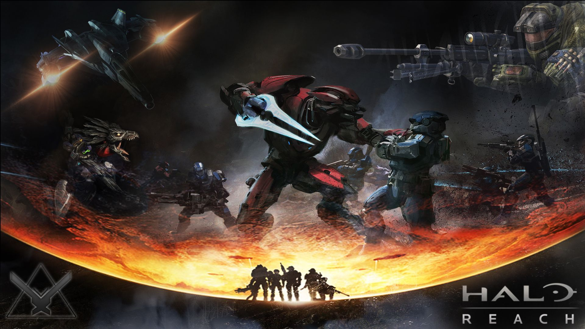 Halo Reach Backgrounds In K Halo Halo Reach Cool Wallpaper Hd Wallpaper