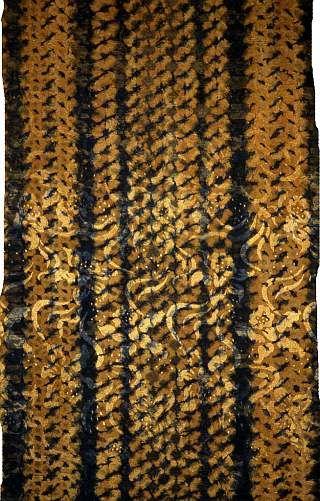 Striped Silk brocade