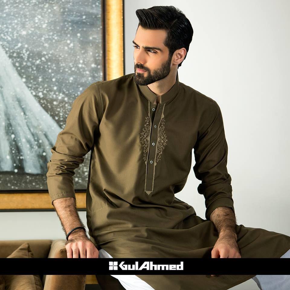 Eid kids kurta shalwar kameez designs 2013 2014 - Gul Ahmad Mens Shalwar Kameez And Kurta Designs