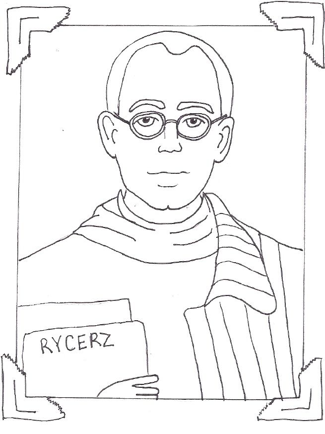 Saint Maximillian Kolbe Catholic Coloring Page | Catholic Crayons ...
