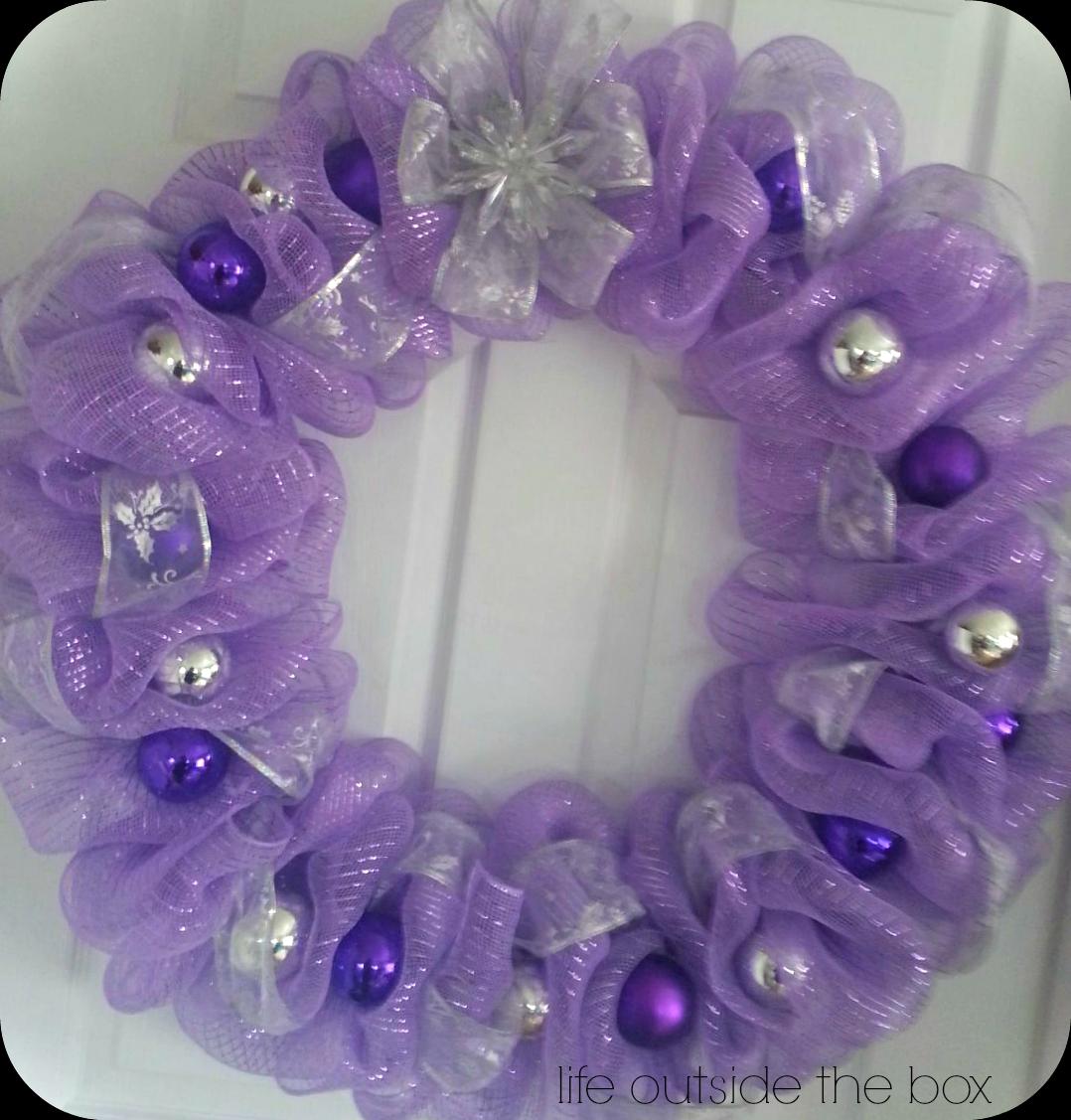 A beautiful 24 inch purple deco mesh wreath i love this one a beautiful 24 inch purple deco mesh wreath i love this one baditri Gallery