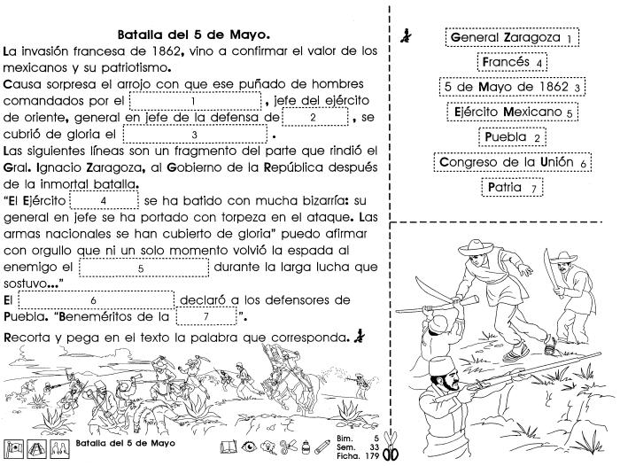 Batalla Del 5 De Mayo 4to Grado Material De Aprendizaje 5 De Mayo Material Didactico Para Matematicas Sistemas Del Cuerpo Humano