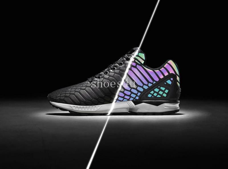 3ac151f9369 With Box Cheap The Chameleon Men S And Women S Shoes Zx Flux Xeno New  Reflective Black Snake Spirit Leisure Shoes Size 36 44 Girls Running Shoes  Hoka ...