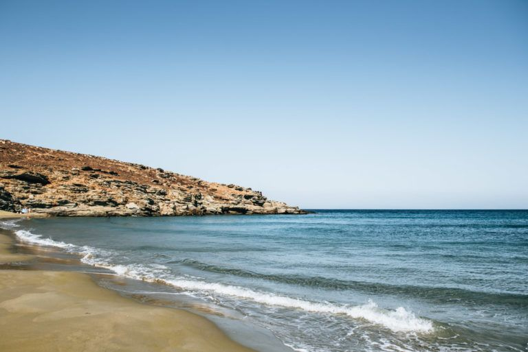 Andros beaches map | Andros, Greece beach, Cyclades islands
