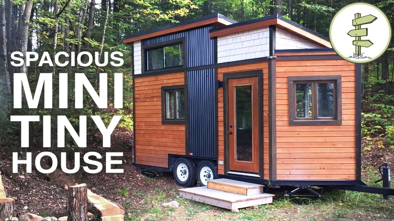 16x8 Smallest Tiny House With All The Comforts Of Home Full Tour Japanese Stairs Are Good But Don T Want Small House Pictures Best Tiny House Small House