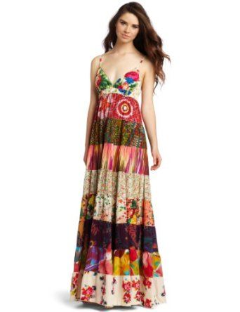 Dallin chase dani city floral maxi dress