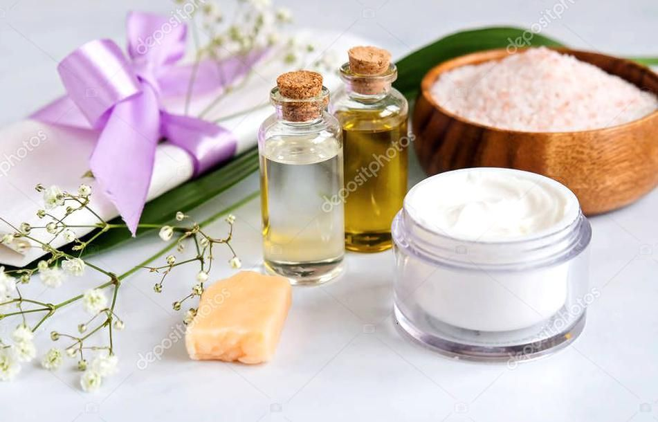 Spa Natural Skin Care Products Background Cosmetic Products Cream Oil And So Aff Skin Care Spa Natural Ad In 2020 Cream Oil Natural Skin Care Skin Care