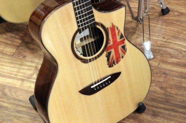 Acoustic Guitar Pickguard Basic Union Jack