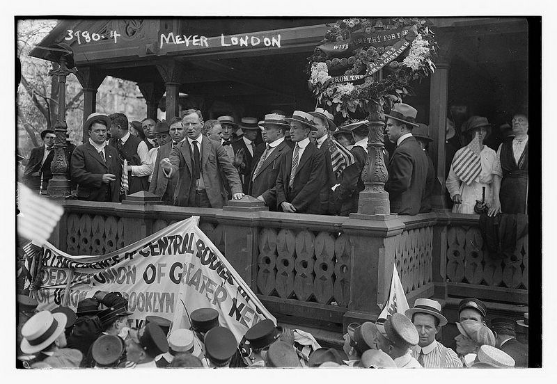 Meyer London (LOC)Meyer London (December 29, 1871 - June 6, 1926) was an American politician from New York City. He was one of only two members of the Socialist Party of America elected to the United States Congress.