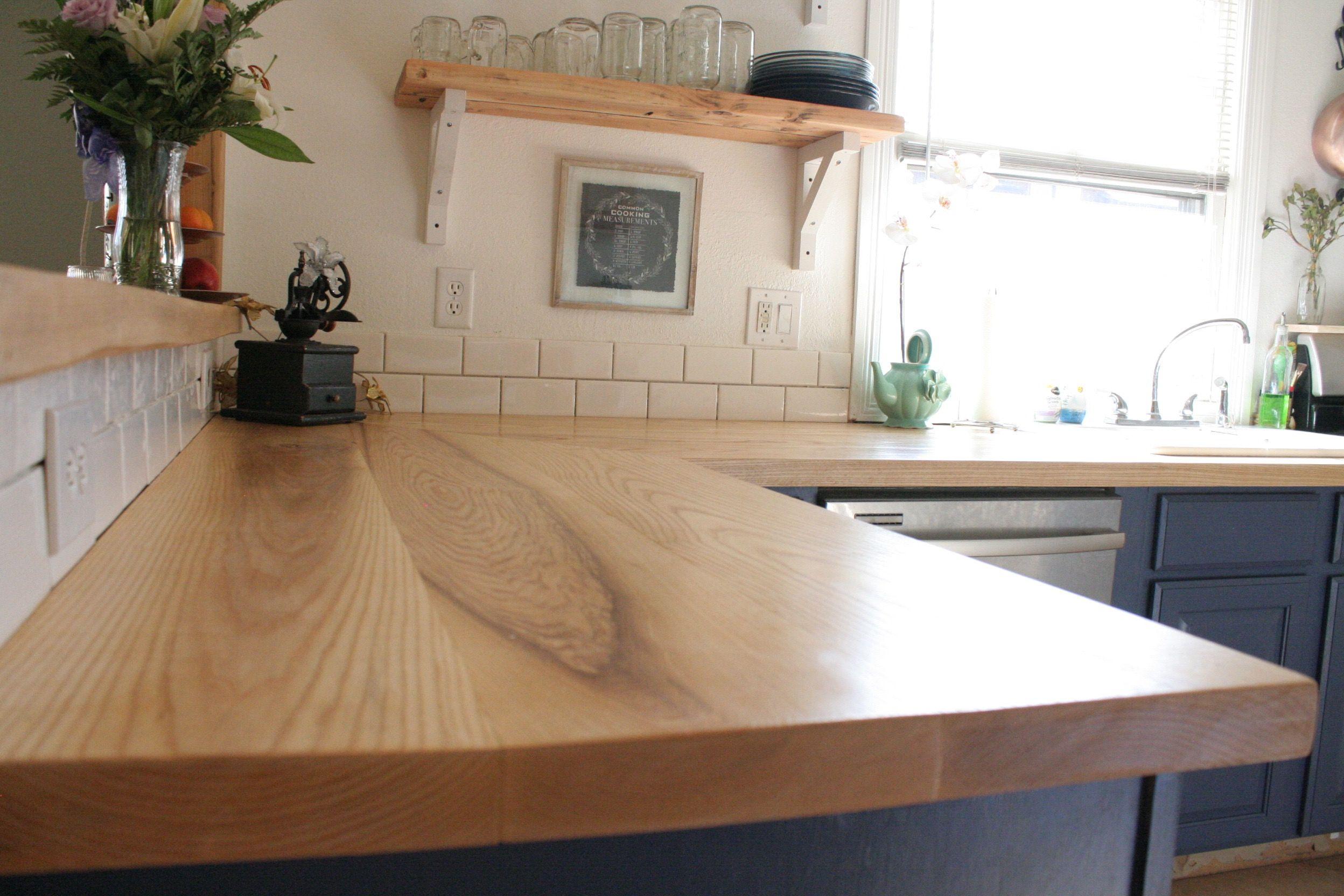 Incredible Wood Countertops Using Ash Hardwood Mg Table Co Mgtables Short Links Chair Design For Home Short Linksinfo