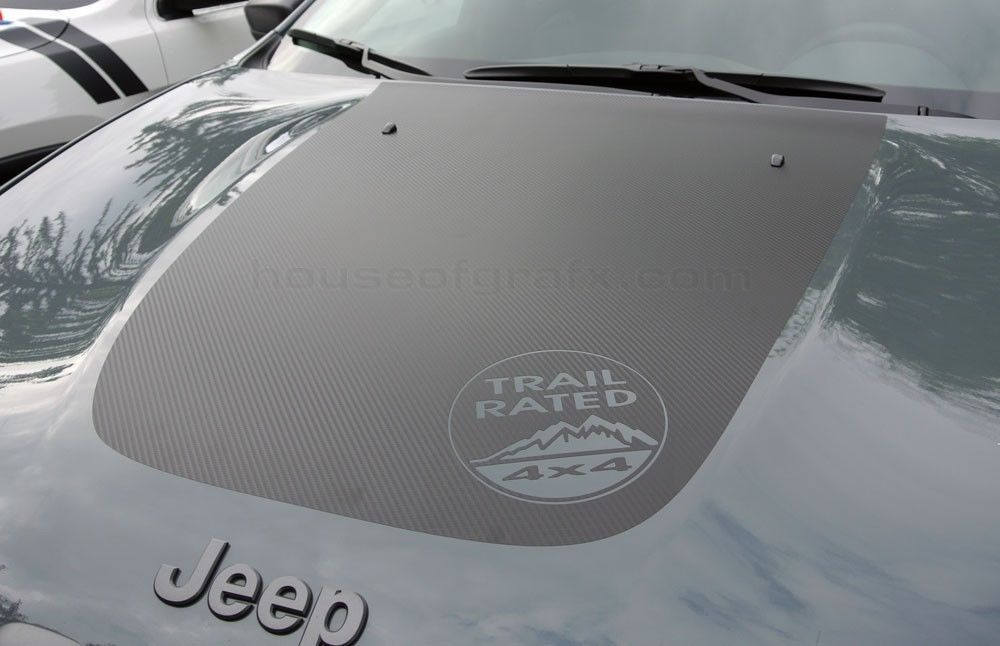 Details About 2014 Jeep Cherokee Or Trailhawk Hood Graphic Grafx