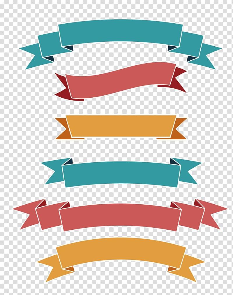 Multicolored Ribbons Illustration Ribbon Label Web Banner Simple Flat Ribbon Transparent Background Png Clipart Ribbon Png Banner Design Ribbon Logo