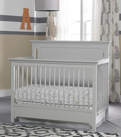 Ti Amo Palazzo 4 In 1 Convertible Crib Misty Grey Convertible Crib Cribs Grey Crib