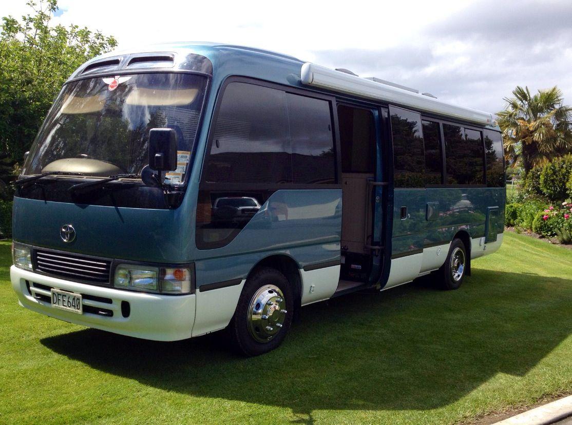 Toyota Coaster Motorhome Rv Bus, Bus Camper, Toyota Motorhome, Tiny Camper,  Luxury