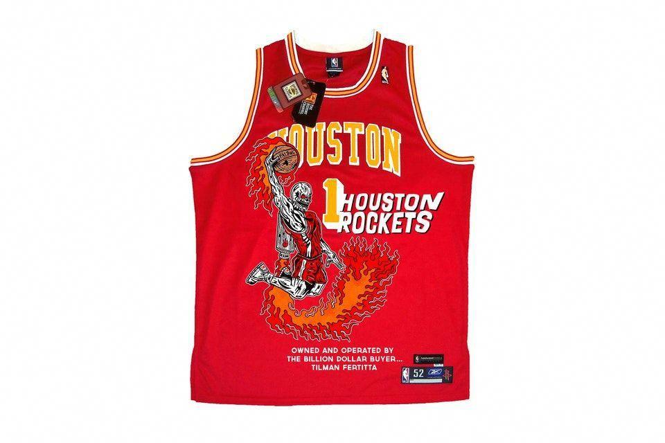 27eed4bf4184 Warren lotas unveils houston rockets basketball jersey jpg 960x640 Warren  lotas spurs