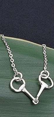 Horse Bit necklace.