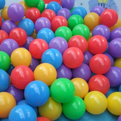 sports shoes 75bba c7f7f 50 Pcs Colorful Fun Plastic Soft Balls Swim Toys Ocean Ball ...