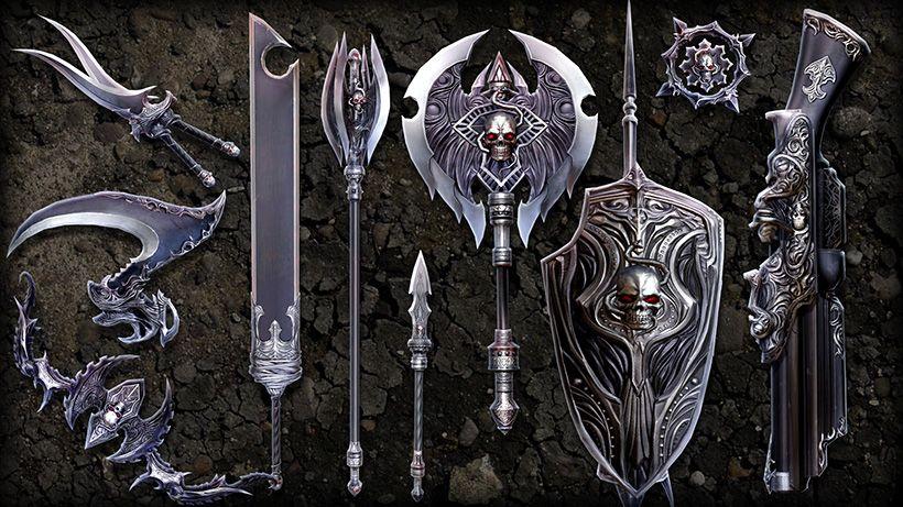 En Masse Store | TERA | Rogue's Weapon Smart Box | Concept