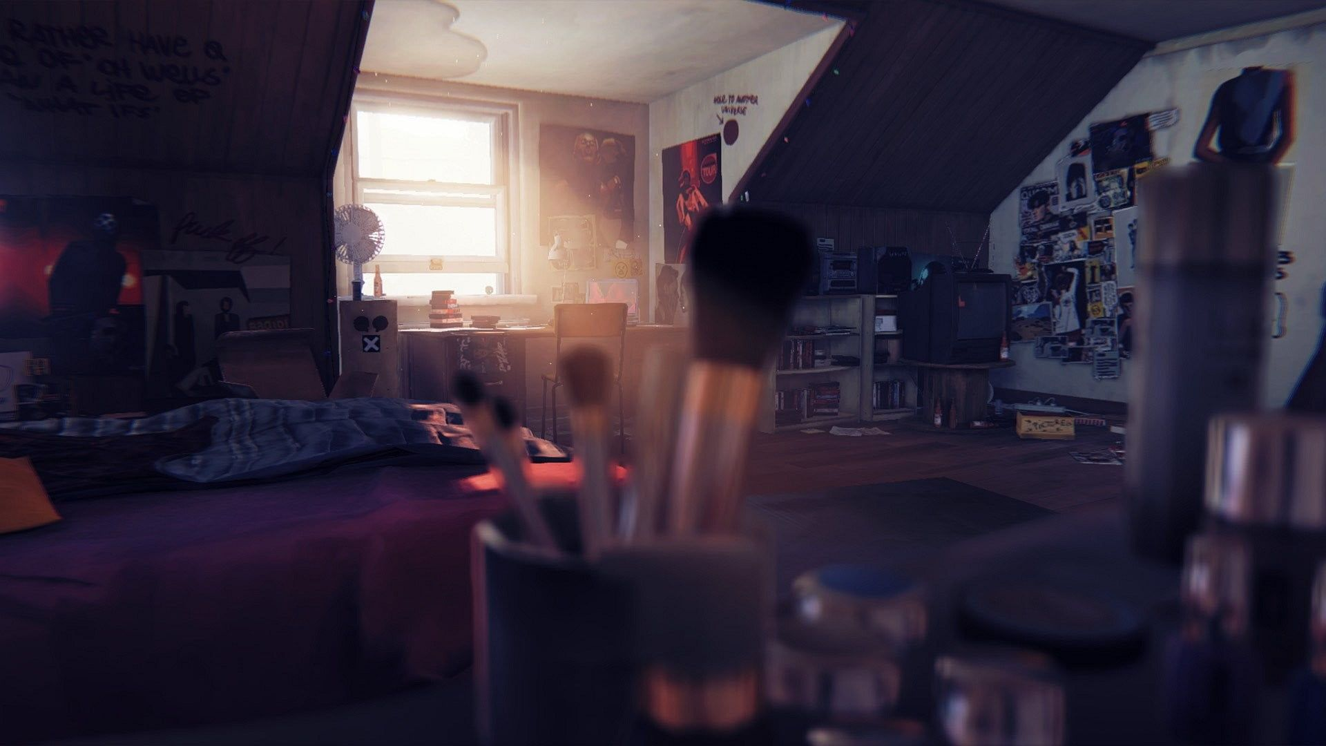 Bedroom Life Is Strange 1080p Wallpaper Hdwallpaper Desktop In 2020 Life Is Strange Wallpaper Life Is Strange Strange