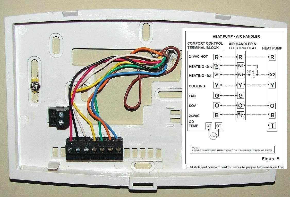 Honeywell programmable thermostat wiring diagram find