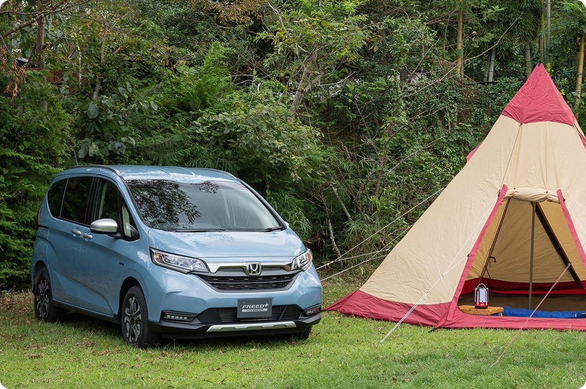 Hondaキャンプ Honda キャンプ キャンプ道具 収納 キャンプ道具
