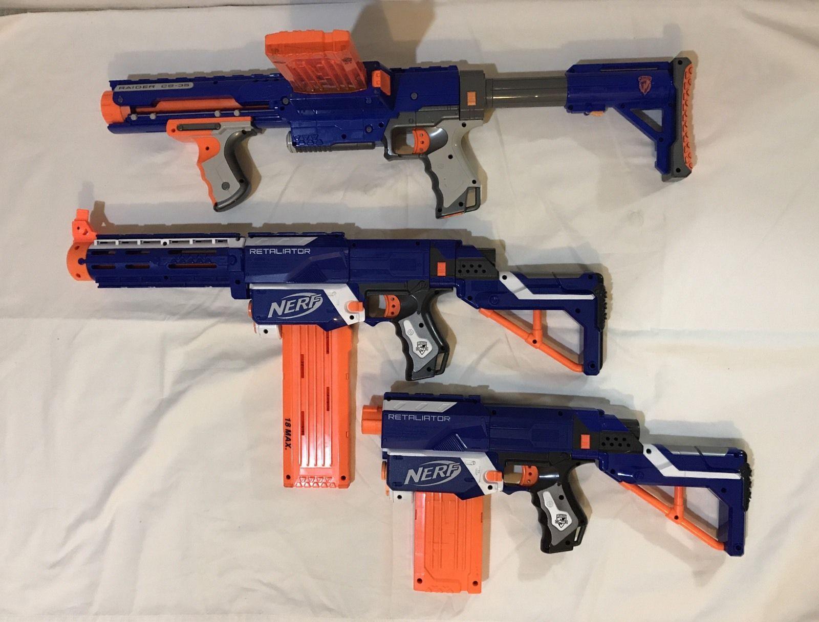 NERF N-STRIKE ELITE HAIL-FIRE BLASTER TOY GUNS, Blasters & Foam Play -  Amazon Canada