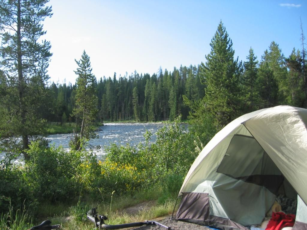 Camp By The River Utah Camping Camping And Hiking Camping Glamping